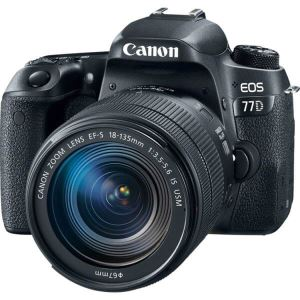 CANON 77 D with 18-135